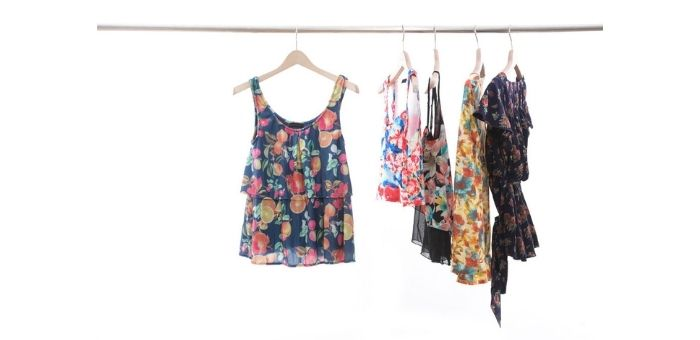 Tips on hanging clothes for photography